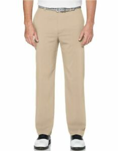 Callaway Mens Stretch Golf Pants w/ Active Waitband Chinchilla 36x32 NWT #71671