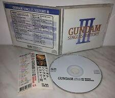 CD GUNDAM SINGLES HISTORY III - GGG-225 - TAIWAN