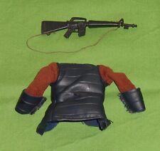 vintage Mego POTA Planet of the Apes GENERAL URSUS SHIRT & GUN only LOT clothes