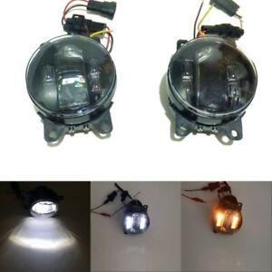 3000LM 20W Fog Lamp + 6W LED DRL + 4W Turn Signals for Ford Honda Mitsubishi etc