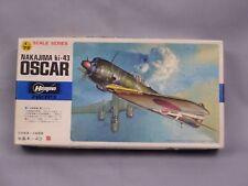 Hasegawa Nakajima Oscar Hayabusa 隼 1/72 Scale Box Toy War Aircraft Display PM300