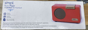 Smpl - Alzheimer's / Dementia Memory Care Simple Music Player, Red 57010