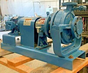 """NEW MET-PRO DEAN R4 Series High Temp Centrifugal Pump: 1.5"""" x 3"""" x 10"""", 3PH, 3HP"""