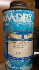 Molybdenum metal powder,   Amdry #338, SEALED., 5 lbs.