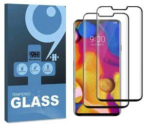 3D Curved Case-Friendly LG V50 5G,V40,LG Velvet Tempered Glass Screen Protector