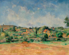 The Bellevue Plain by Paul Cézanne 60cm x 48cm Art Paper Print