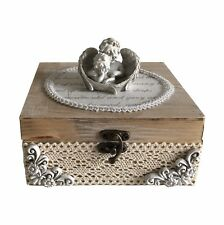 Angels - Craft Wooden Jewellery Box