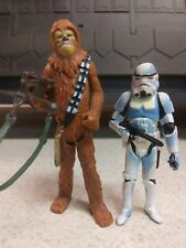 Star Wars Comic Pack Han and Chewbacca Hasbro 2006 3.75 Action Figures