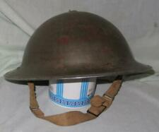 Original Canadian World War Ii Brodie Mk 1 Helmet with Original Headliner
