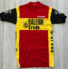 Vintage 1980s Ti Raleigh Creda Team Cycling Jersey Top Shirt Eroica