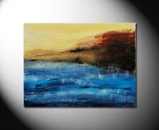 "FIONA RITZ  ""SEASIDE"" Moderne Kunst! Abstrakte Bilder! HANDGEMALTES ORIGINAL"