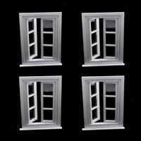 Maison de poupées en bois quatre Fenêtre Panneau échelle 1//12th 01022