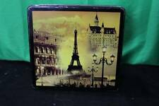 Delacre Square Chocolate And Biscuit Tin Cookies Decorative Collectible Candy