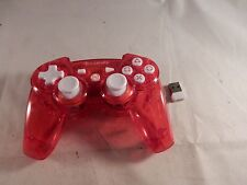 PDP Rock Candy Wireless Controller for Sony Playstation 3 PS3 - Red (VG) #C957