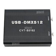 512 Canal USB-DMX512 CYT-S5102 Stage LED Lighting Controller Console Support MA