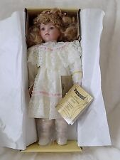 "Seymour Mann Connoisseur Collection 16"" Old Fashioned Dressed Paula Doll NIB"