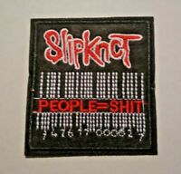 "US SELLER!!!    SLIPKNOT ""PEOPLE=SHIT""  ~ 3"" x 3"" IRON ON PATCH ~ ROCK/POP ~ NEW"