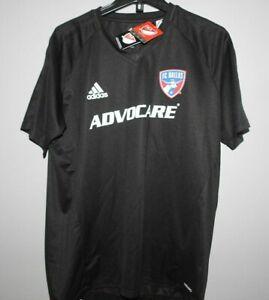 MLS Adidas FC DALLAS Soccer Football Jersey New Mens Sizes
