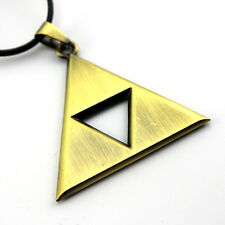 The Legend of Zelda Pandent Triforce Necklace Cosplay Bronze Necklace