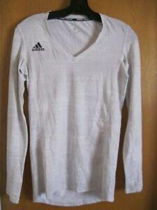 Adidas Valleyball Climalite NEW Run hike Yoga long sleeve top women shirt XS