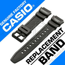 10360816 GENUINE CASIO FACTORY REPLACEMENT BLACK BAND FOR: SGW-300H, SGW-400H