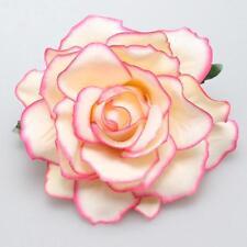 Damen Haarblume Haarblüte Haarschmuck Haarspange Braut Ansteckblume Haarclip Neu