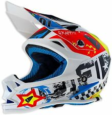 2018 UFO KIDS Onyx Motocross MX Enduro Motorbike Crash Helmet Large 52-53cm