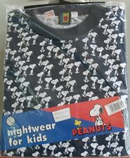 SNOOPY PEANUTS UNITED FEATURE SYNDICATE INC. PIJAMA DE NIÑOS  OFICIAL LICENCIADO