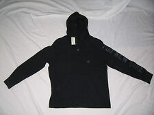 NEW WITH TAGS BOY'S P.S. BY AEROPOSTALE BLACK THERMAL HOODIE SIZE 10