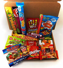Sweet Hamper Gift Box Retro Mix Sweets & Candy Treats Present Birthday Thank you