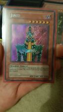 Yugioh Jinzo PSV-000 secret rare pack fresh MINT! Konami card. Pharaohs servant