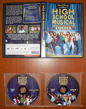 High School Musical 1 Remix Edición 2 Discos [Disney DVD] Zac Efron Ver.Española