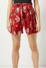 Dorothy Perkins - Maternity Rust Floral Shorts - Size 10 - BNWT