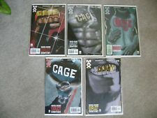 CAGE #1 2 3 4 5 COMPLETE SERIES SET MARVEL COMICS 2002 1-5 SETS RUN NM+ TO NM
