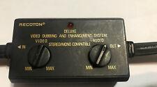 Recoton Deluxe Video Dubbing & Enhancement System  Model V616