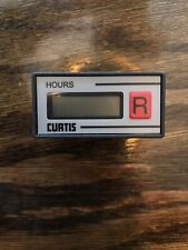 Curtis 231 Hour meter 8 Digit LCD 231-5M210-000A Hourmeter Counter