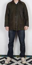 "BARBOUR Beaufort Wax Jacket Chest 42"" Green Medium Large (CCL) 1980's"