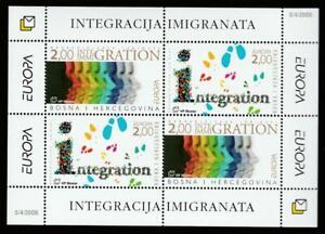 BOSNIA HERCEG-BOSNA 2006 EUROPA CEPT INTEGRATION Mi.Bl.8 MNH SOUVENIR SHEET