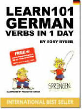 Learn 101 German Verbs in 1 Day (Learn 101 Verbs in a Day), Rory Ryder, Used; Go