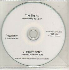 (CU539) The Lights, Mostly Water - 2011 DJ CD