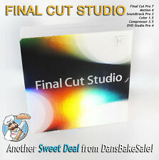 Apple Final Cut Studio V3.0 Retail with Final Cut Pro 7 in Excellent Condition