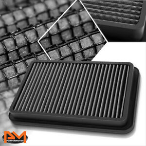 For 92-02 Corolla/Millenia/Prizm Reusable Multilayer High Flow Air Filter Silver