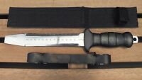 Large Abalone Tool Divers Steel Shellfish Knife with Ruler WILCOMP WIL-DK-17S