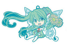 Vocaloid Miku Hair flying GT Project Rubber Phone Strap