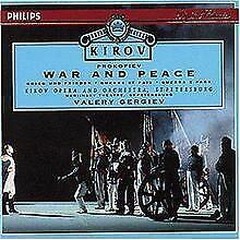 Prokofieff: War and Peace (Gesamtaufnahme) (russ.) von Pro...   CD   Zustand gut