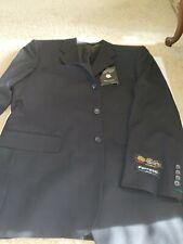 Ferretti Uomo Suit Black Wool Blend sz 40R 34W NEW WITH TAGS