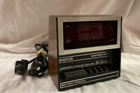 Vintage Spartus Digital Alarm Clock Model 1119 Jumbo Numbers
