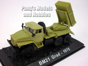 BM-21 Grad Multiple Rocket Launcher Truck 1/72 Scale Diecast Model