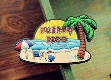 Puerto Rico Tourism Tourist Travel Souvenir 3D Rubber Fridge Magnet