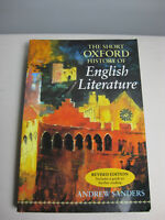 Andrew Sanders: The Short Oxford History of English Literature - revised 1996
